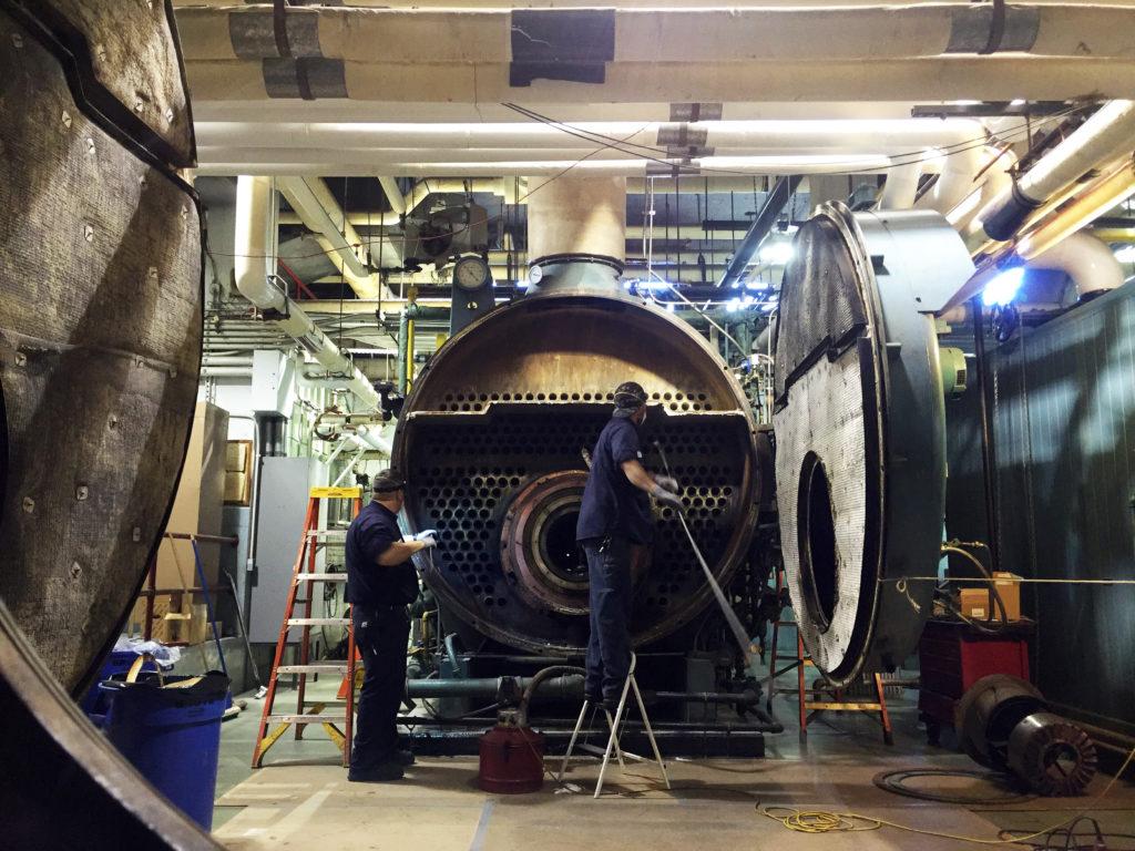 Frank I Rounds Company Boiler Service
