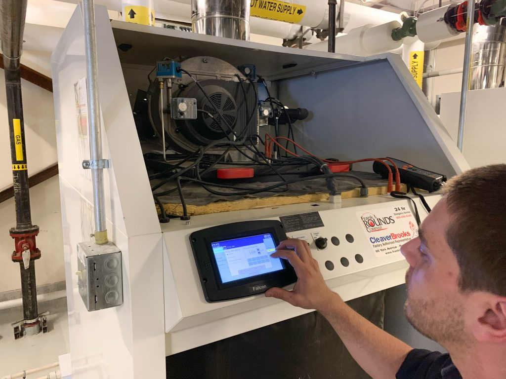 Cleaver-Brooks ClearFire-CFC Boiler Maintenance