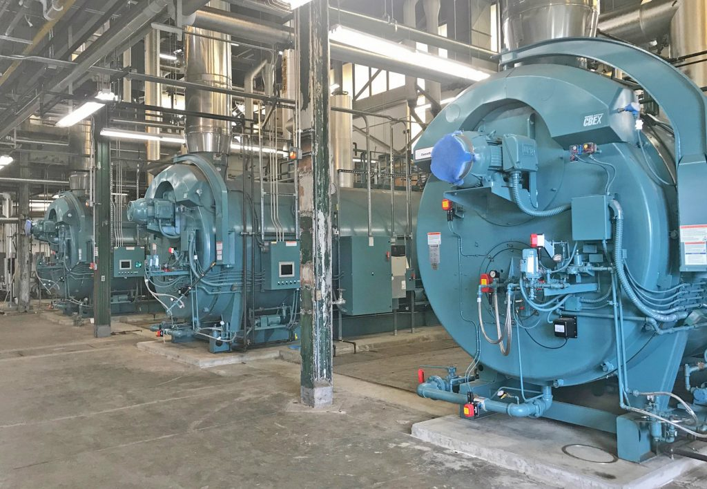 Firetube Boiler System