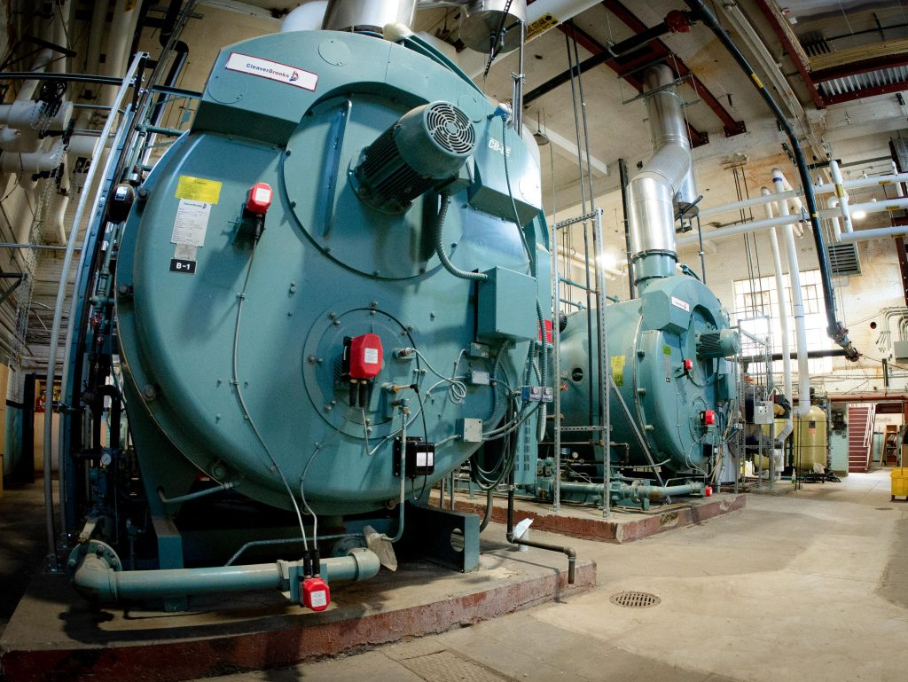 Cleaver-Brooks Steam Boiler System